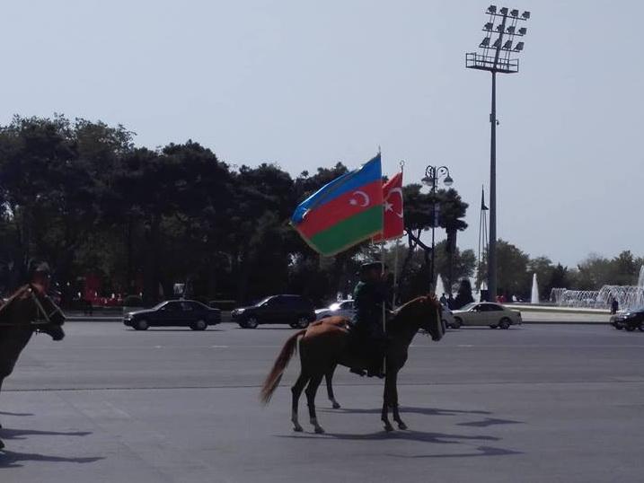 В Баку продолжается подготовка к историческому параду – ФОТО – ВИДЕО