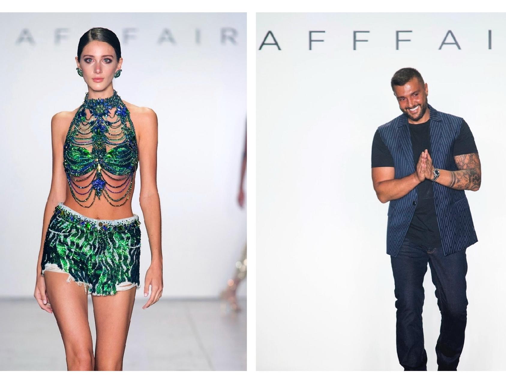Руфат Исмаил представил коллекцию на Нью-Йоркской Неделе моды - ФОТО – ВИДЕО