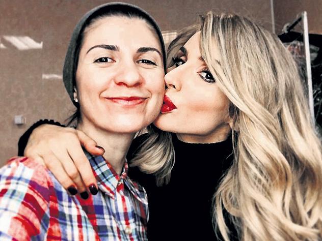 Лободу подозревают в лесбийской связи с дочерью азербайджанского миллионера – ФОТО