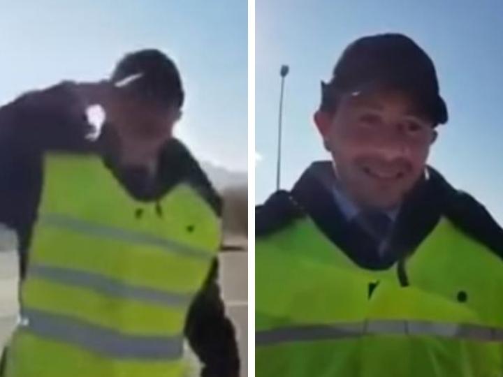 В Азербайджане душевнобольного выдали за сотрудника Дорожной полиции – ВИДЕО