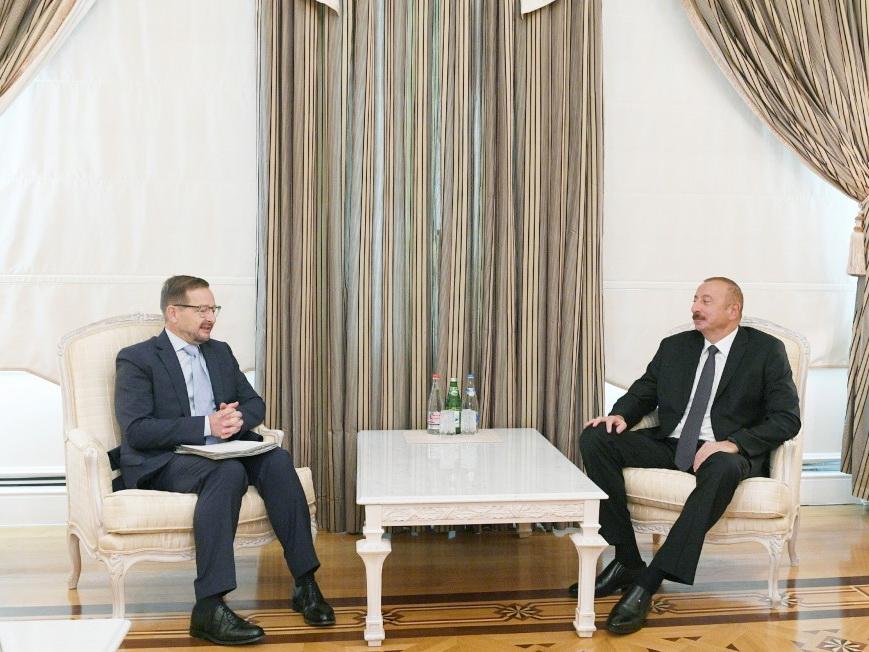 Президент Ильхам Алиев принял генерального секретаря ОБСЕ - ФОТО