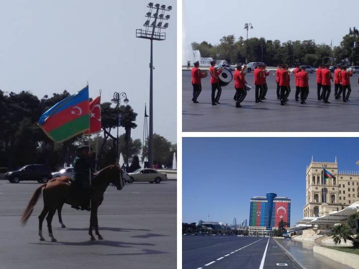 Баку готовится к историческому параду: Азербайджан и Турция навеки вместе – ФОТО – ВИДЕО