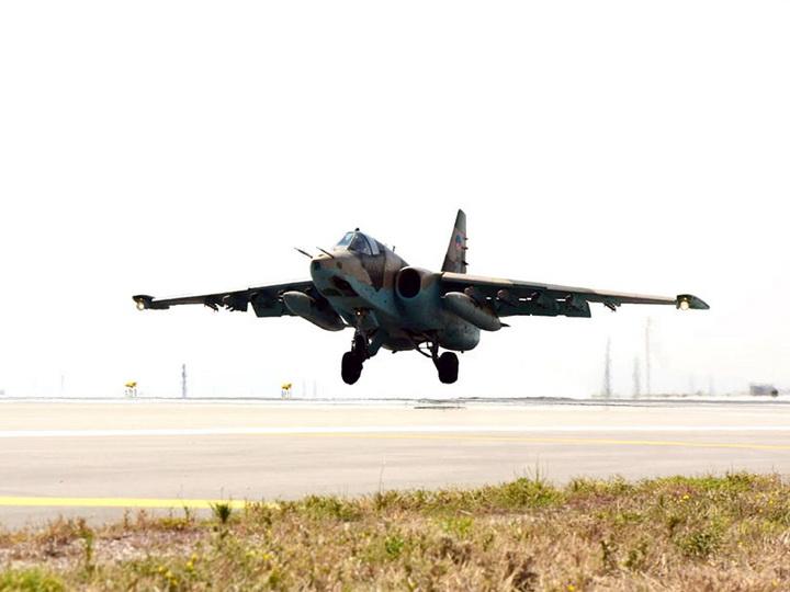 Боевые самолеты выполнили задачи по поражению средств противовоздушной обороны - ФОТО
