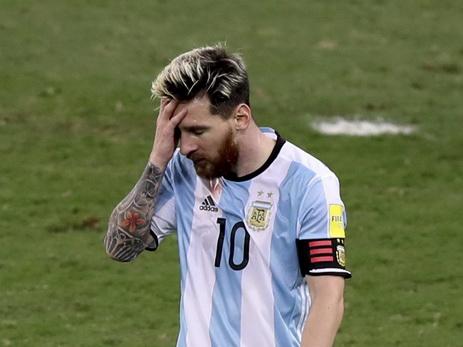 Описан худший момент Месси в сборной Аргентины