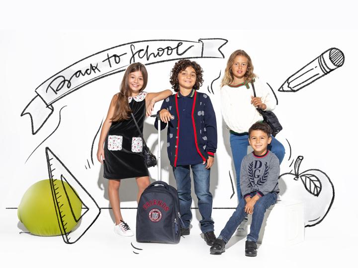 Здравствуй, школа! Новейшие детские коллекции мировых брендов в Emporium - ФОТО