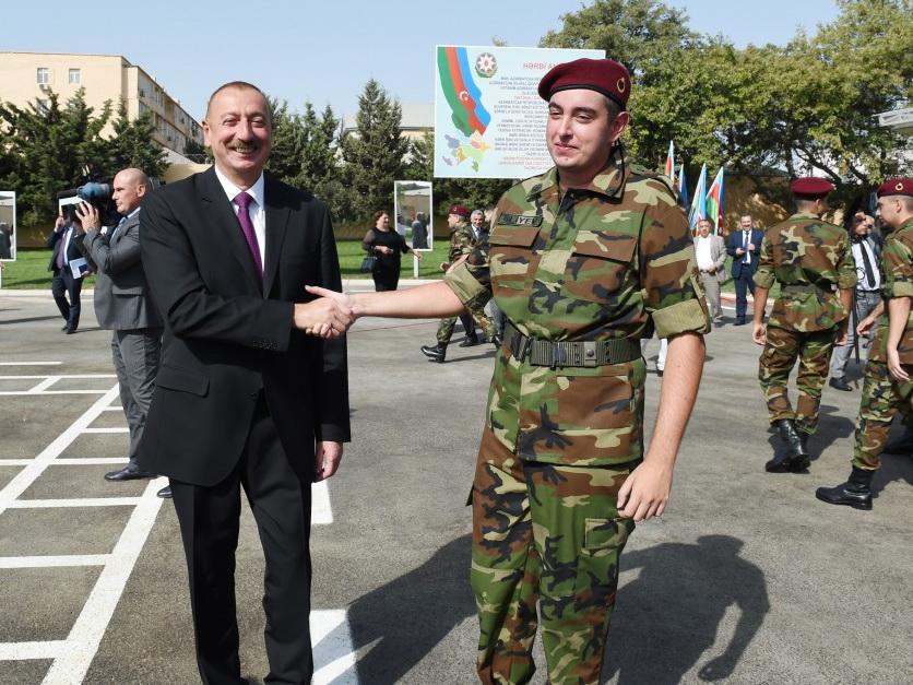 По стопам великого деда: чему учит пример Гейдара Алиева, отправившегося в армию? – ФОТО - ВИДЕО