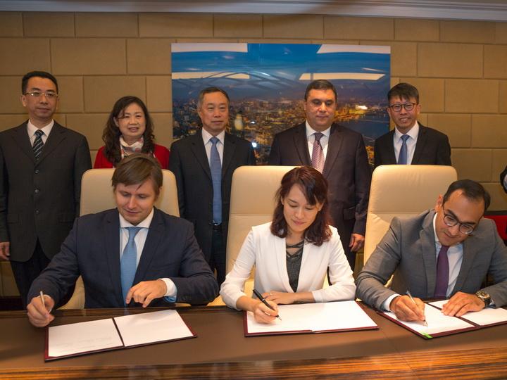 В Международном аэропорту Гейдар Алиев создается единый Центр контроля полетов гражданских беспилотных аппаратов - ФОТО