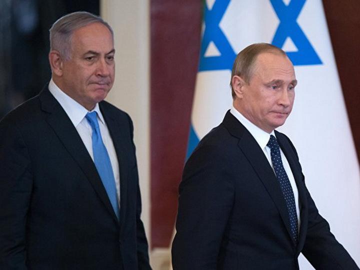 Нетаньяху выразил соболезнования Путину после крушения Ил-20 в Сирии