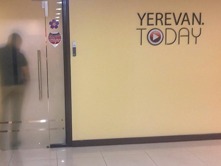 «Репортеры без границ» осуждают обыски в офисе Yerevan Today
