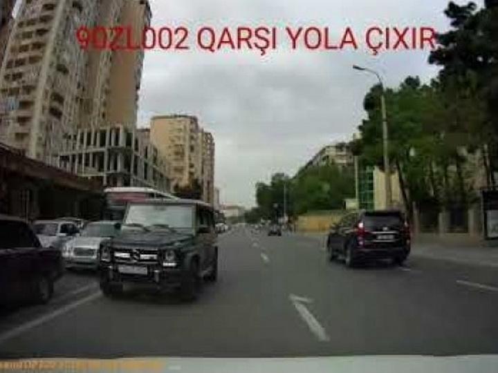 Новые подробности о водителе Mercedes Gelandewagen, выехавшем на «встречку» в Баку: Он избил мужчину? – ФОТОФАКТ - ОБНОВЛЕНО