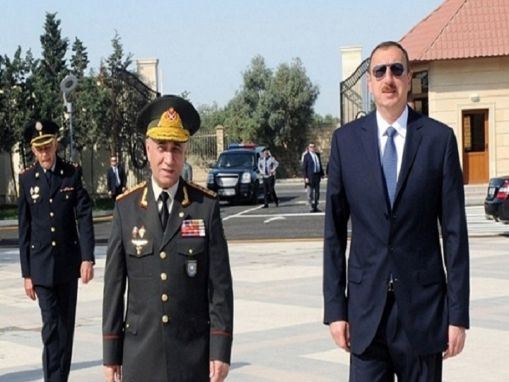 Prezident Ramil Usubovu mükafatlandırdı – FOTO
