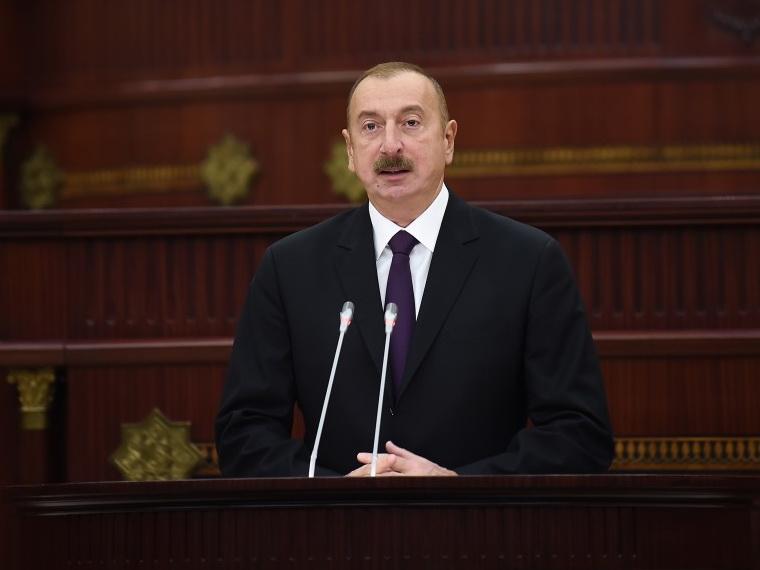 Президент Ильхам Алиев: Азербайджан полностью обеспечивает свои национальные интересы