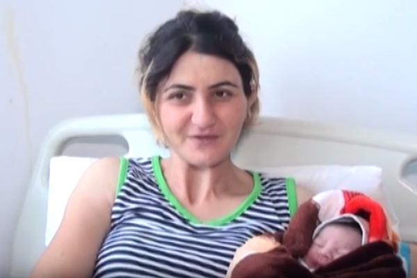Azərbaycandaailənin 10-cu övladı doğuldu - Bir səbəbə görə - VİDEO