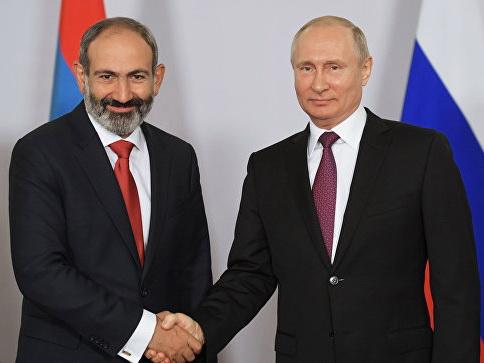 О чем Путин напомнил Пашиняну?