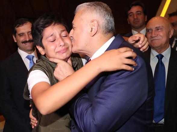 Бинали Йылдырым пережил трогательные моменты в Баку - ФОТО