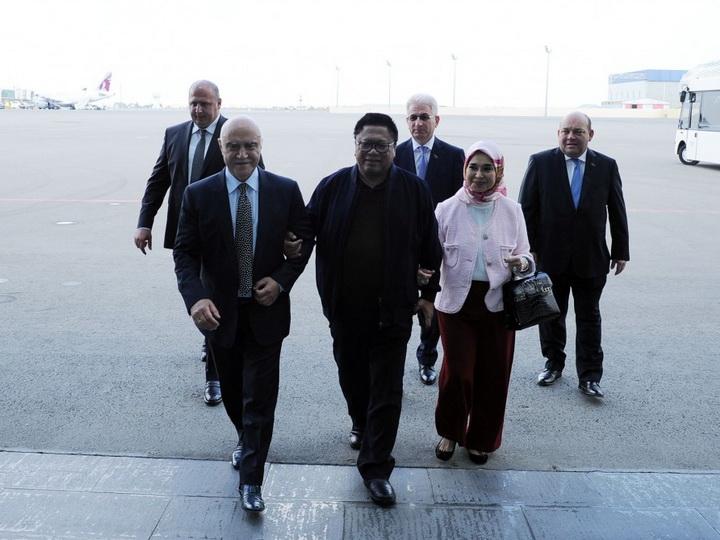 Председатель Совета представителей регионов Индонезии прибыл с визитом в Азербайджан
