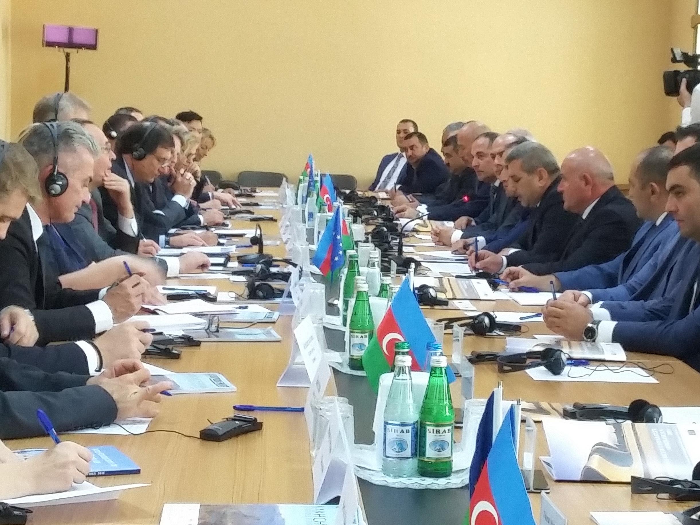 Avropa İttifaqı-Naxçıvan biznes forumu keçirilib - FOTO