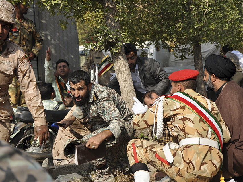 В Иране понедельник объявили днем траура по погибшим в теракте
