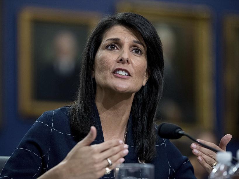 Хейли назвала уход Асада вопросом времени
