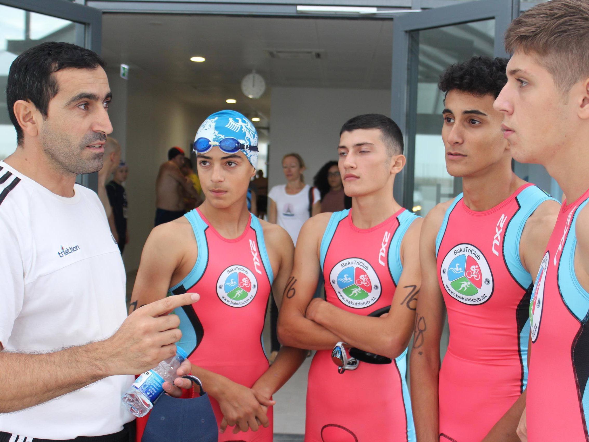 Праздник триатлона в Баку