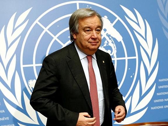 Генсек ООН назвал передачу власти в Армении «фантастическим примером»