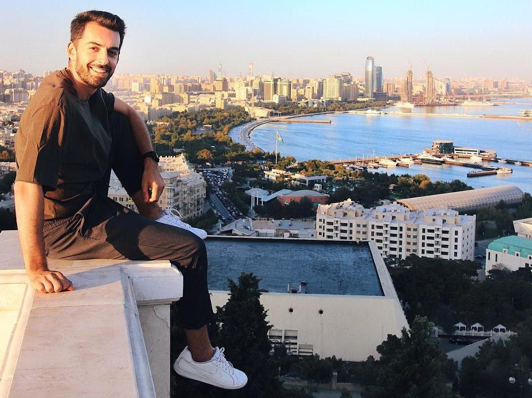 «Азербайджанец, который первый раз в Азербайджане»: бакинские каникулы travel-блогера Касё Гасанова - ФОТО