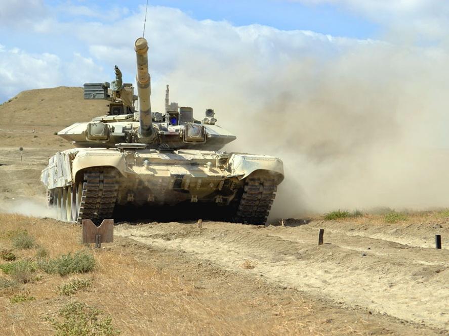 Стартовали соревнования за звание лучшей танковой роты - ФОТО - ВИДЕО