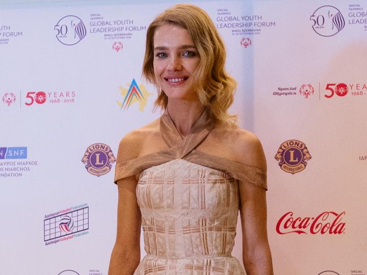Российская супермодель Наталья Водянова: «Поражена невероятной архитектурой Баку» - ФОТО