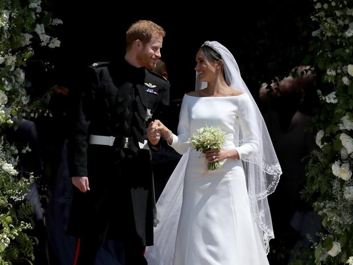 Меган Маркл раскрыла тайну своего свадебного наряда - ВИДЕО