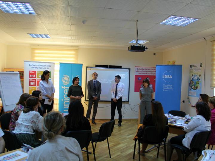 В Азербайджане проводится «Самый большой урок в мире» - ФОТО