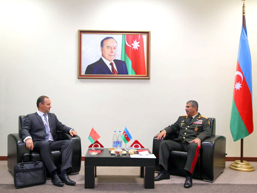 Азербайджан и Беларусь обсудили возможности применения современных военных технологий – ФОТО
