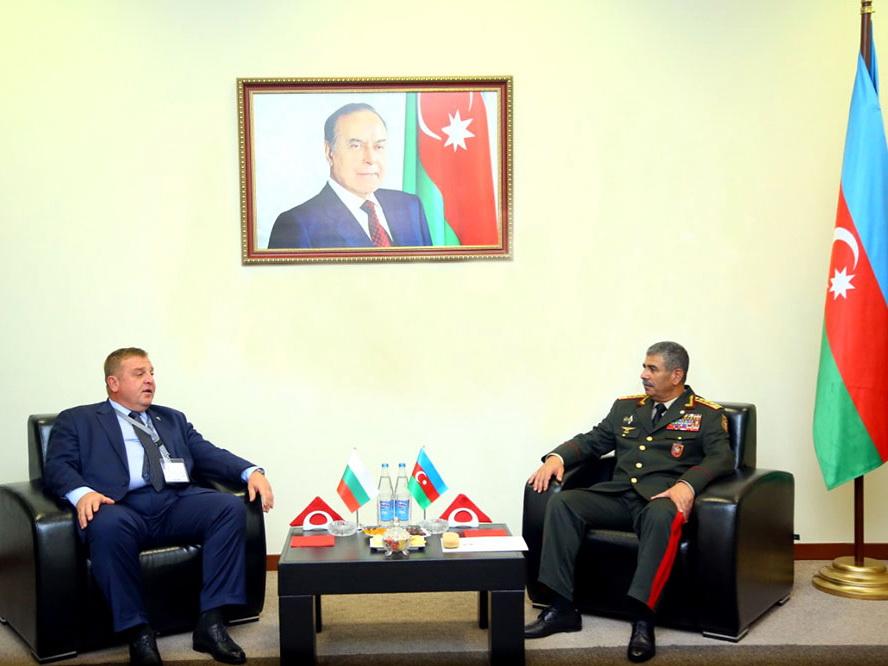 Азербайджан и Болгария обсудили перспективы развития сотрудничества в военной сфере