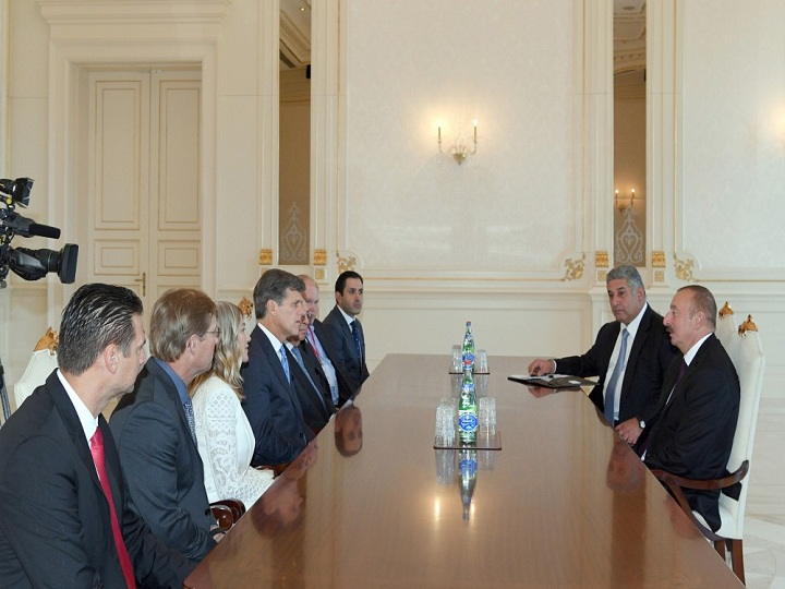 Prezident İlham Əliyev Xüsusi Olimpiya Komitəsinin sədrini qəbul edib - FOTO