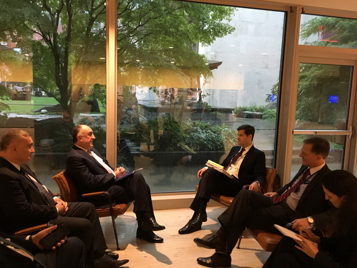 Эльмар Мамедъяров встретился с помощником госсекретаря США - ФОТО