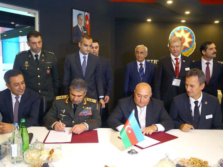 Подписан меморандум между министерствами обороны и оборонной промышленности Азербайджана