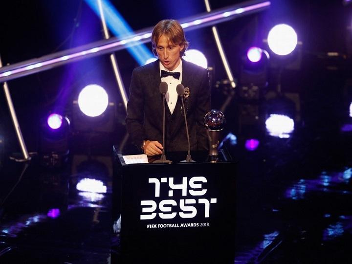 Luka Modriç ilin ən yaxşı futbolçusu seçilib