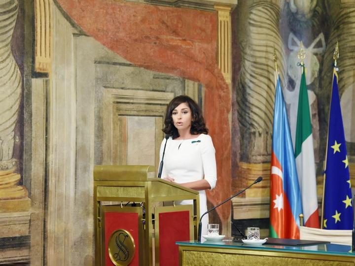 Мехрибан Алиева: Италия является крупнейшим торговым партнером Азербайджана – ФОТО