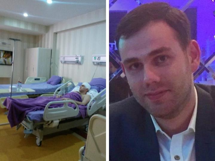 Фархад Агаев, которому проломили череп за место на парковке, успешно прооперирован – ФОТО