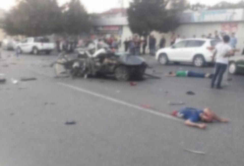 Новые подробности страшного ДТП в Баку, в котором погибших разорвало на части – ФОТО – ВИДЕО