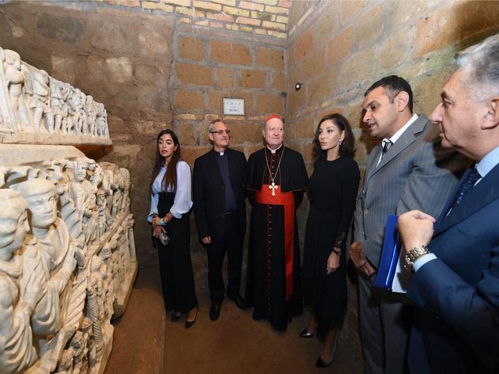 Vatikanda Müqəddəs Sebastian katakombalarının açılışı olub - FOTO
