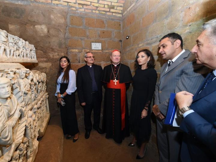 В Ватикане состоялось открытие катакомб Святого Себастьяна - ФОТО