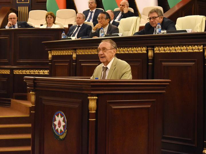 В НАНА отметили 100-летний юбилей академика Гасана Абдуллаева - ФОТО