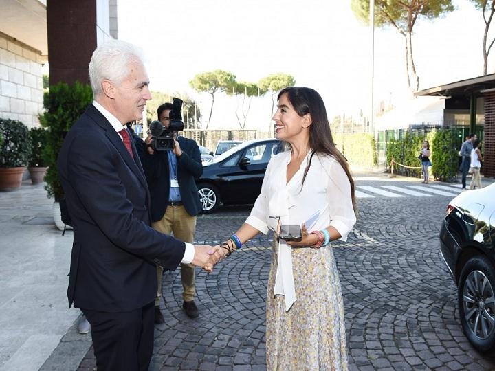 """FAO-nun Romadakı baş ofisində """"Azərbaycan otağı""""nın açılışı olub – FOTO"""