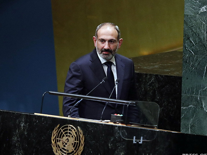 Пашинян в ООН уничтожает переговорный процесс: «Карабах не может быть в составе Азербайджана»