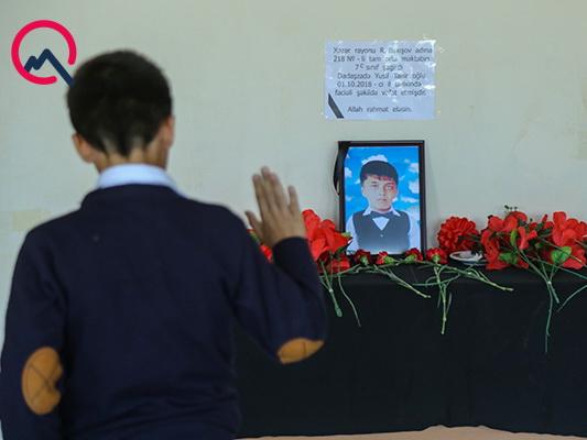 Отец погибшего в автобусной аварии 13-летнего Юсифа: «У меня был единственный ребенок, и он ушел…» - ФОТО - ВИДЕО