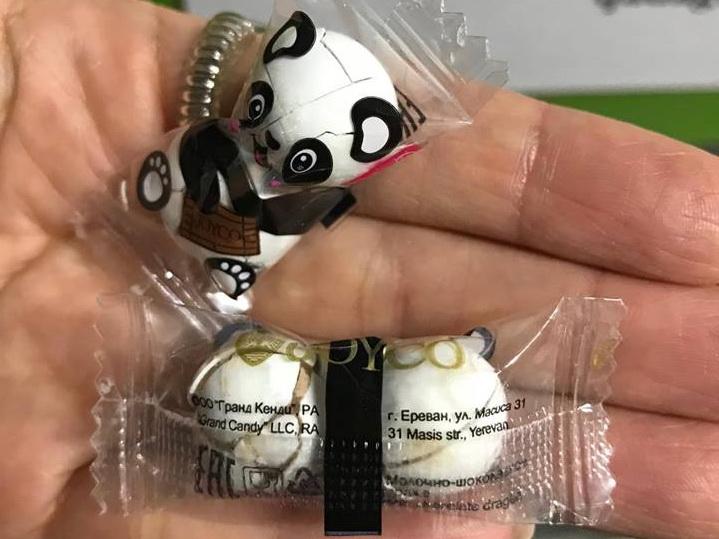 «Панда» из Армении на детском празднике в Баку – как и где покупают товары некоторые наши event-компании?