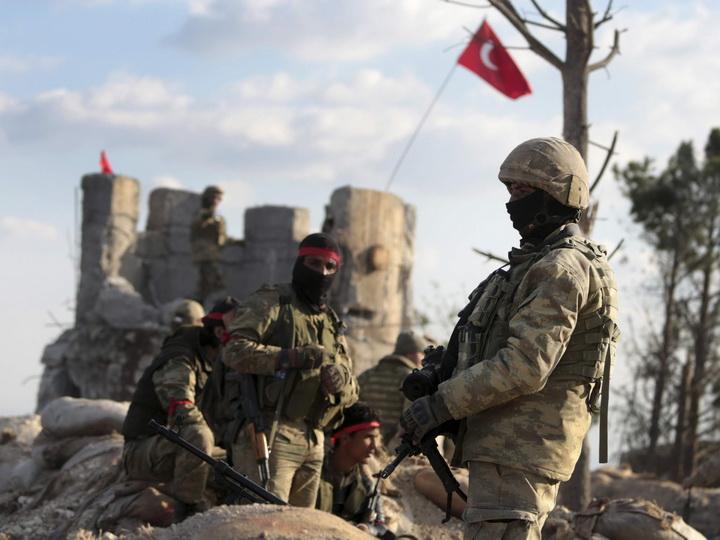 Двое турецких военнослужащих стали шехидами, 3 человека получили ранения