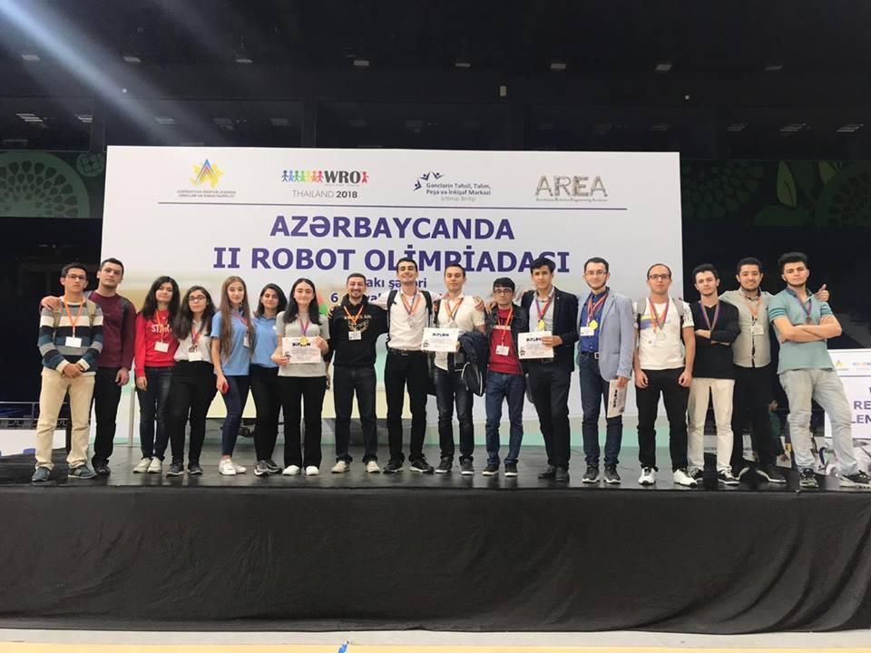 БВШН завоевала первые три места на Олимпиаде роботов