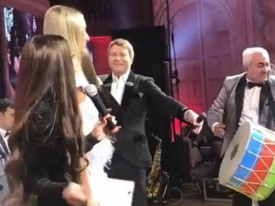 Зажигательный танец Николая Баскова под азербайджанскую песню – ВИДЕО