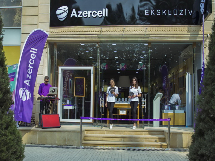 Магазин Azercell Exclusive теперь в Агджабеди – ФОТО
